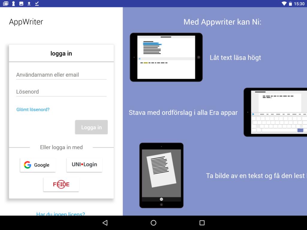 AppWriter Android Installation Wizkids